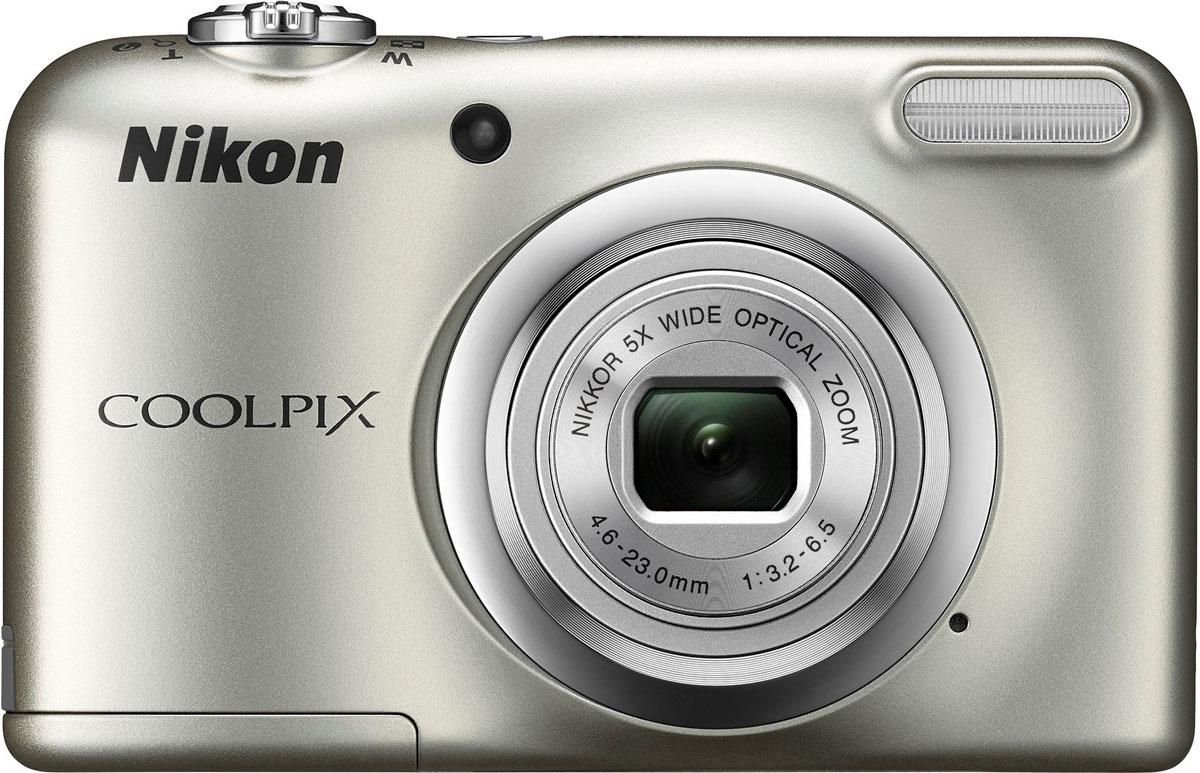 Nikon CoolPix A10, Silver цифровая фотокамера ( VNA980E1 )