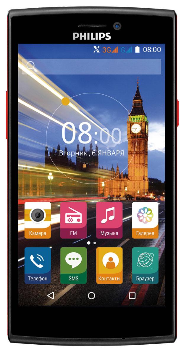 Philips S337, Black Red8712581736538Philips S337 – удивительное сочетание интересного дизайна, производительной начинки и свежей версии ОС Android - и все это по привлекательной цене. Четырехъядерный процессор с частотой 1.3 ГГц и 1 ГБ оперативной памяти позволяют работать с требовательными к ресурсам устройства играми и приложениями из каталога приложений Google Play Market, а ОС Android 5.1 обеспечит простое и интуитивно понятное управление всеми функциями смартфона на большом экране 5. Наконец, поддержка двух SIM-карт гарантирует бесперебойную связь, как с коллегами, так и с близкими людьми. Основная камера 5 Мпикс с автофокусом и вспышкой позволит запечатлеть памятные моменты или важную информацию, уловив самые тонкие детали, фронтальная же камера придется очень кстати для видео-звонков. Поддержка технологии Miracast позволит мгновенно просмотреть отснятые фотографии и видеоролики на большом экране совместимого ТВ без лишних проводов. Приятным дополнением станет...