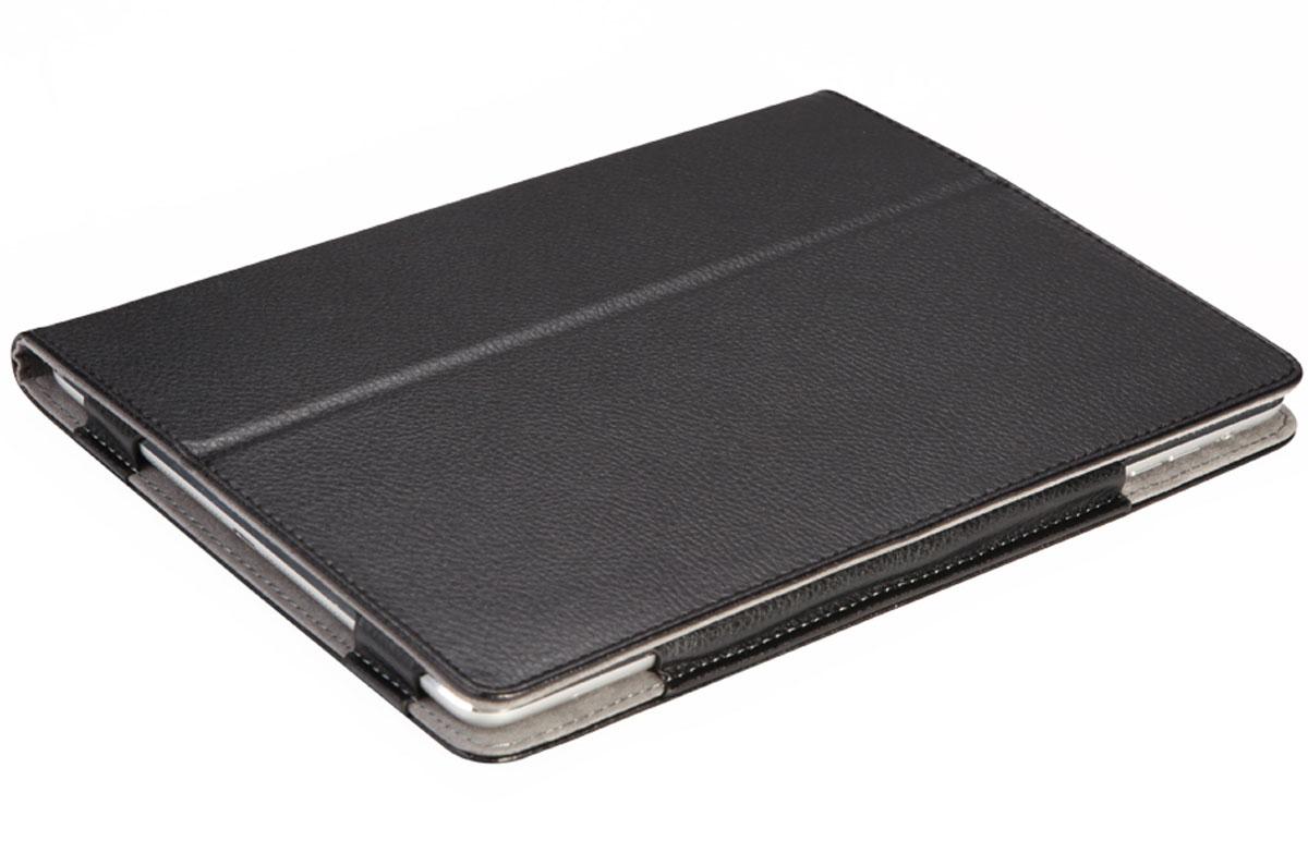 IT Baggage чехол для iPad Air 9.7, BlackITIPAD52-1Чехол IT Baggage для iPad Air 9.7 - это стильный и лаконичный аксессуар, позволяющий сохранить планшет в идеальном состоянии. Надежно удерживая технику, обложка защищает корпус и дисплей от появления царапин, налипания пыли. Также чехол можно использовать как подставку для чтения или просмотра фильмов. Имеет карман для пластиковых карт, ручку для переноски, а также обеспечивает свободный доступ ко всем разъемам устройства.