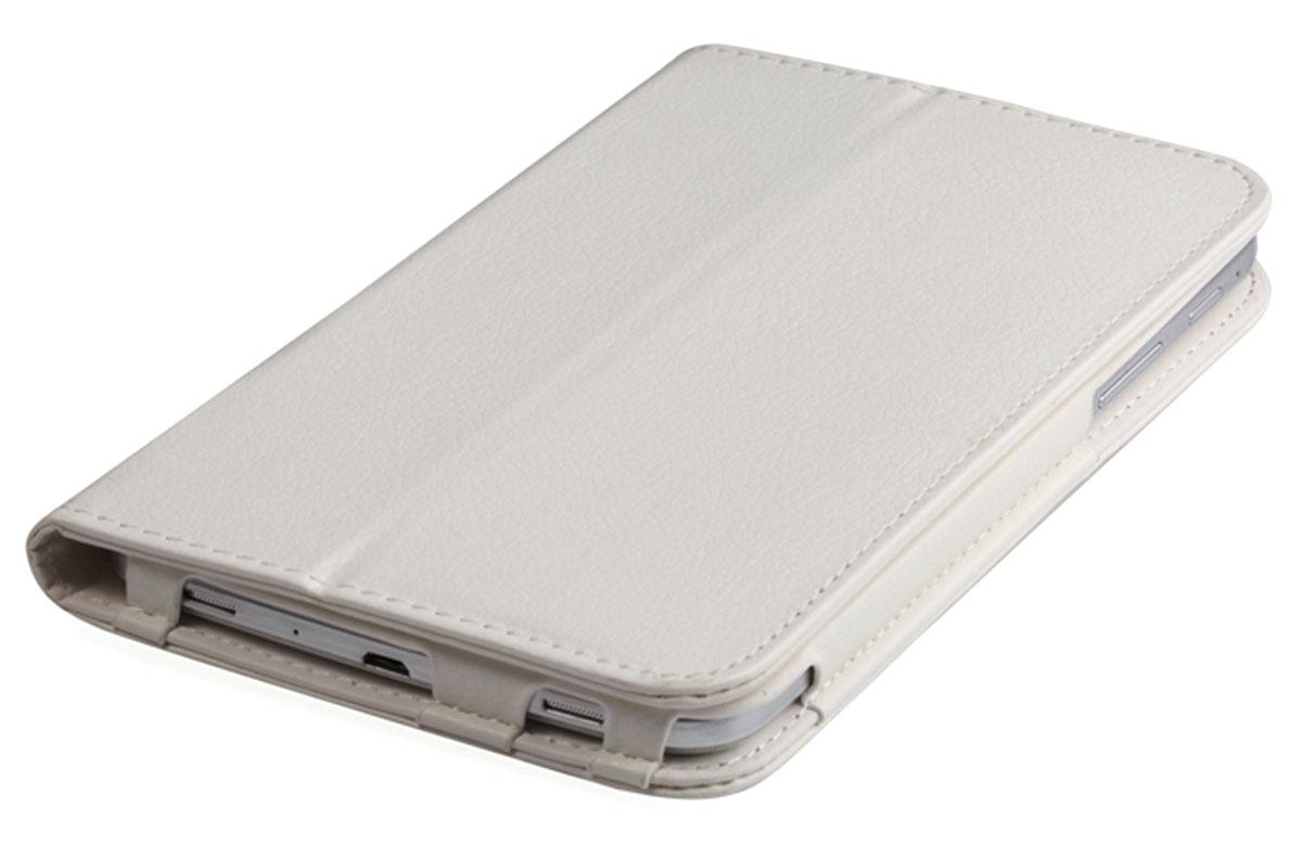 IT Baggage чехол для Lenovo IdeaTab 2 A7-20, WhiteITLNA722-0Чехол IT Baggage для Lenovo IdeaTab 2 A7-20 - это стильный и лаконичный аксессуар, позволяющий сохранить планшет в идеальном состоянии. Надежно удерживая технику, обложка защищает корпус и дисплей от появления царапин, налипания пыли. Также чехол можно использовать как подставку для чтения или просмотра фильмов. Имеет свободный доступ ко всем разъемам устройства.