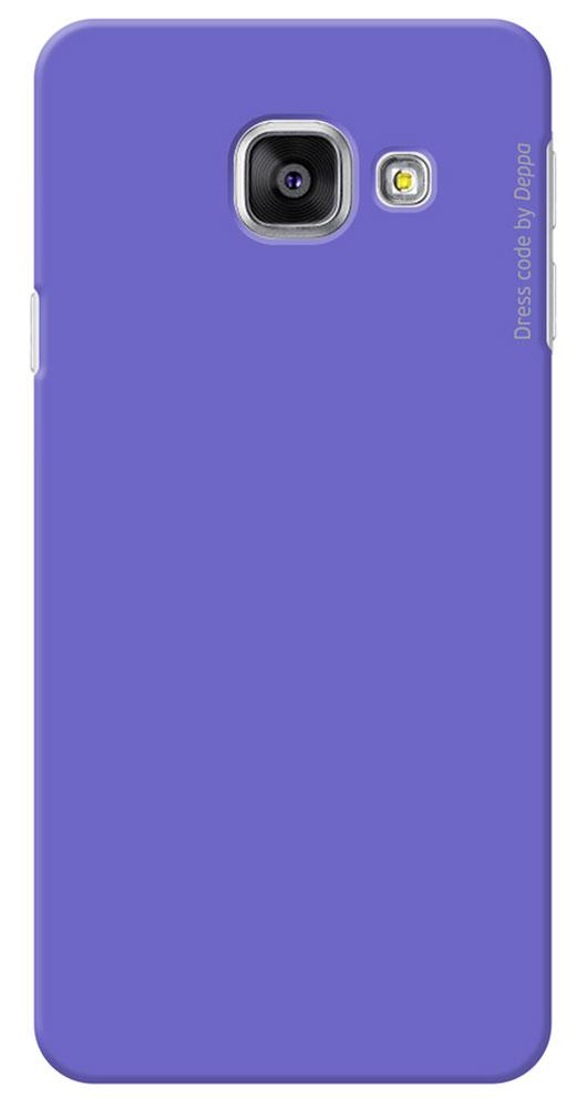 Deppa Air Case чехол для Samsung Galaxy A3(2016), Purple83225Чехол Deppa Air Case для Samsung Galaxy A3(2016) предназначен для защиты корпуса смартфона от механических повреждений и царапин в процессе эксплуатации. Имеется свободный доступ ко всем разъемам и кнопкам устройства. Чехол изготовлен из поликарбоната Teijin производства Японии с покрытием Soft touch.