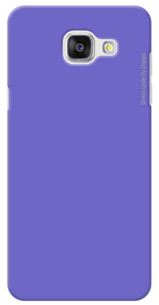 Deppa Air Case чехол для Samsung Galaxy A5(2016), Purple83230Чехол Deppa Air Case для Samsung Galaxy A5(2016) предназначен для защиты корпуса смартфона от механических повреждений и царапин в процессе эксплуатации. Имеется свободный доступ ко всем разъемам и кнопкам устройства. Чехол изготовлен из поликарбоната Teijin производства Японии с покрытием Soft touch.