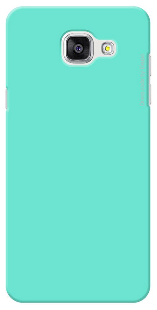 Deppa Air Case чехол для Samsung Galaxy A5(2016), Mint83231Чехол Deppa Air Case для Samsung Galaxy A5(2016) предназначен для защиты корпуса смартфона от механических повреждений и царапин в процессе эксплуатации. Имеется свободный доступ ко всем разъемам и кнопкам устройства. Чехол изготовлен из поликарбоната Teijin производства Японии с покрытием Soft touch.