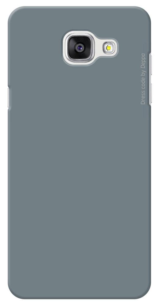 Deppa Air Case чехол для Samsung Galaxy A5(2016), Gray83232Чехол Deppa Air Case для Samsung Galaxy A5(2016) предназначен для защиты корпуса смартфона от механических повреждений и царапин в процессе эксплуатации. Имеется свободный доступ ко всем разъемам и кнопкам устройства. Чехол изготовлен из поликарбоната Teijin производства Японии с покрытием Soft touch.