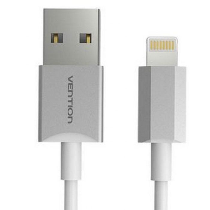 Vention кабель Lightning для iPhone 5/6, Silver