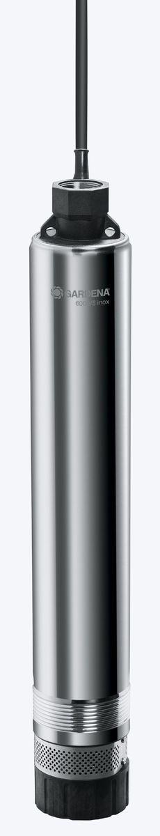 Насос погружной Gardena 6000/5 inox Premium , высокого давления01492-20.000.00Насос для скважин 6000/5 inox Premium (обратный клапан)