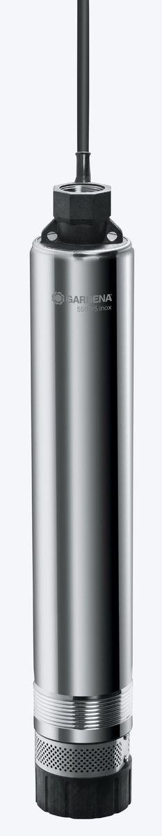 Насос Gardena 5500/5 inox Premium, погружной высокого давления01489-20.000.00Насос для скважин 5500/5 inox Premium (обратный клапан)