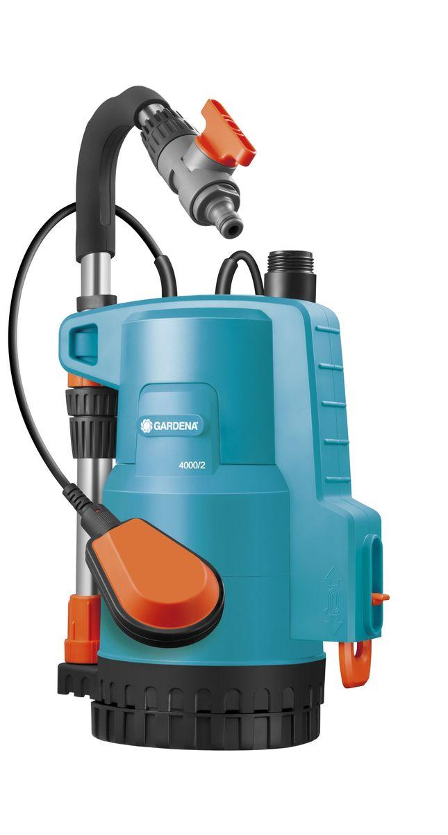 Насос Gardena 4000/2 Classic, для резервуаров с дождевой водой01740-20.000.00Насос для резервуаров с дождевой водой 4000/2 Classic