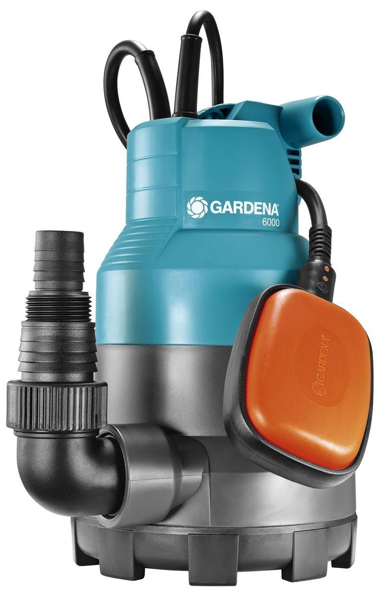 Насос дренажный Gardena 6000 Classic, для чистой воды01777-20.000.00Насос дренажный для чистой воды 6000 Classic