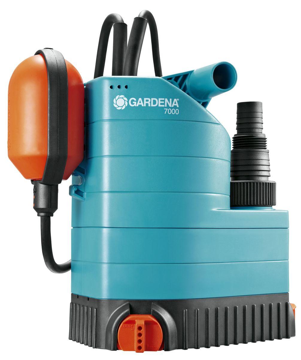 Насос дренажный Gardena 7000 Classic , для чистой воды01780-20.000.00Насос дренажный для чистой воды 7000 Classic