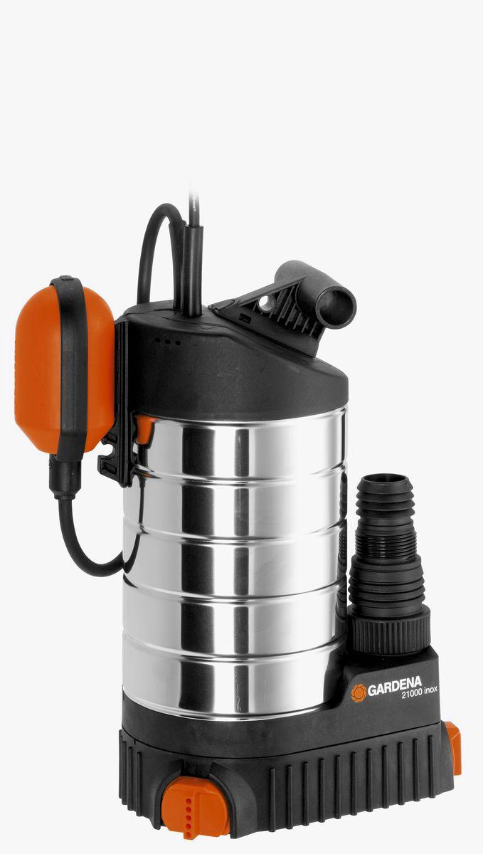 Насос дренажный Gardena 21000 inox Premium, для чистой воды01787-20.000.00Если вода появилась в неположенном месте и необходимо срочно принимать меры, например, чтобы предотвратить еще больший ущерб вашему дому - выбирайте дренажный насос 21000 inox Premium GARDENA, который позволит вам быстро и эффективно откачать большой объем воды. Насос позволяет перекачивать до 21 000 л/ч чистой или слегка загрязненной воды с содержанием загрязняющих частиц диаметром до 5 мм. Поворотное основание насоса обеспечивает возможность откачивания воды до минимального остаточного уровня в 1 мм, то есть практически досуха. Поплавковый выключатель обеспечивает автоматическое включение и выключение насоса. Изменяя положение кабеля в фиксаторе, можно регулировать уровни включения и выключения с помощью поплавкового выключателя. Дополнительно подключаемый механизм позволяет при необходимости легко перейти на постоянное ручное управление. Благодаря наличию силового кабеля длиной 10 м, практичный и надежный шланг может использоваться для выполнения различных...
