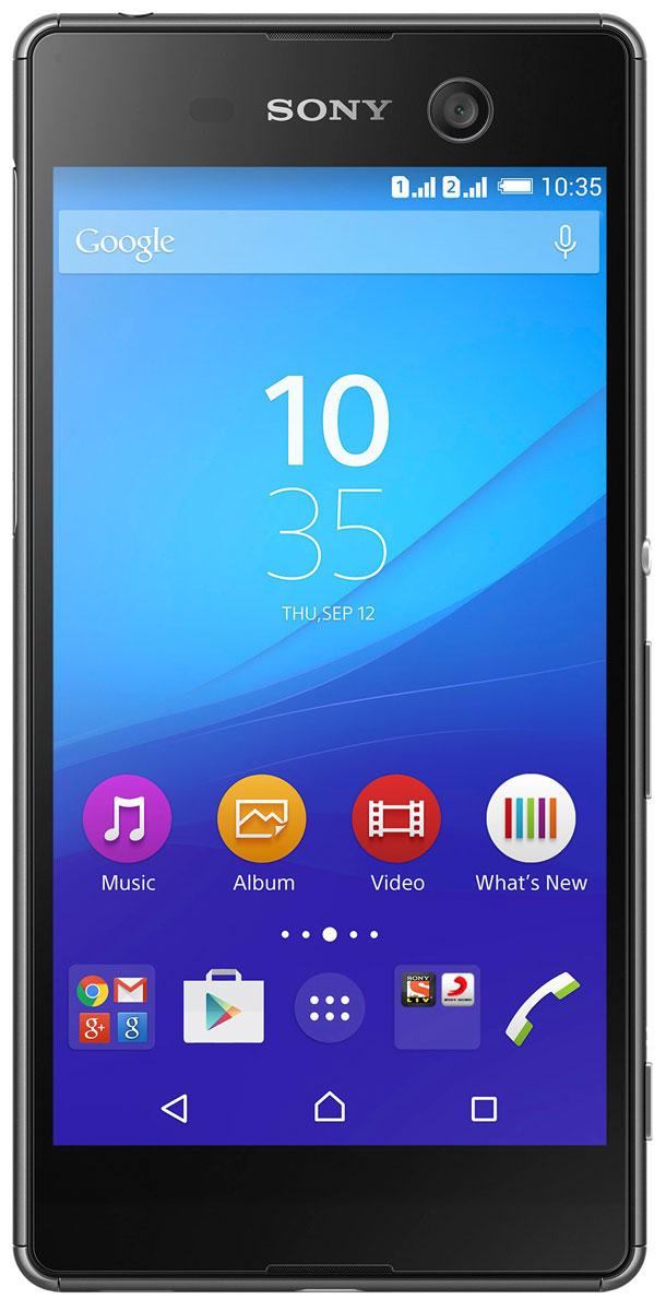 Sony Xperia M5 Dual, Black7311271534112Sony Xperia M5 Dual — это смартфон для тех, кто не согласен на меньшее. Особое внимание мы уделили его камере: ее разрешение 21,5 МП и светочувствительность ISO 3200 обеспечивают чистые четкие снимки каждый раз, когда вы нажимаете на кнопку. Ваша жизнь в разрешении 4K По виду об этом сложно догадаться, но тонкий изящный Xperia M5 dual оснащен мощной видеокамерой для съемки четких, ярких и насыщенных видео в разрешении 4K. Мощная камера для отличных селфи Что нужно для отличного селфи? Лишь вы и качественная фронтальная камера на вашем устройстве. Фронтальная камера Xperia M5 dual оснащена матрицей с разрешением 13 МП, автофокусировкой и фильтром, выравнивающим цвет кожи, чтобы каждое ваше фото выглядело свежо и эффектно. Защита от воды и жизненных невзгод Смартфон испачкался? Не беда: просто помойте его. Водонепроницаемый Android-смартфон Sony Xperia M5 Dual легко выдерживает не только струю воды из-под крана, но и...