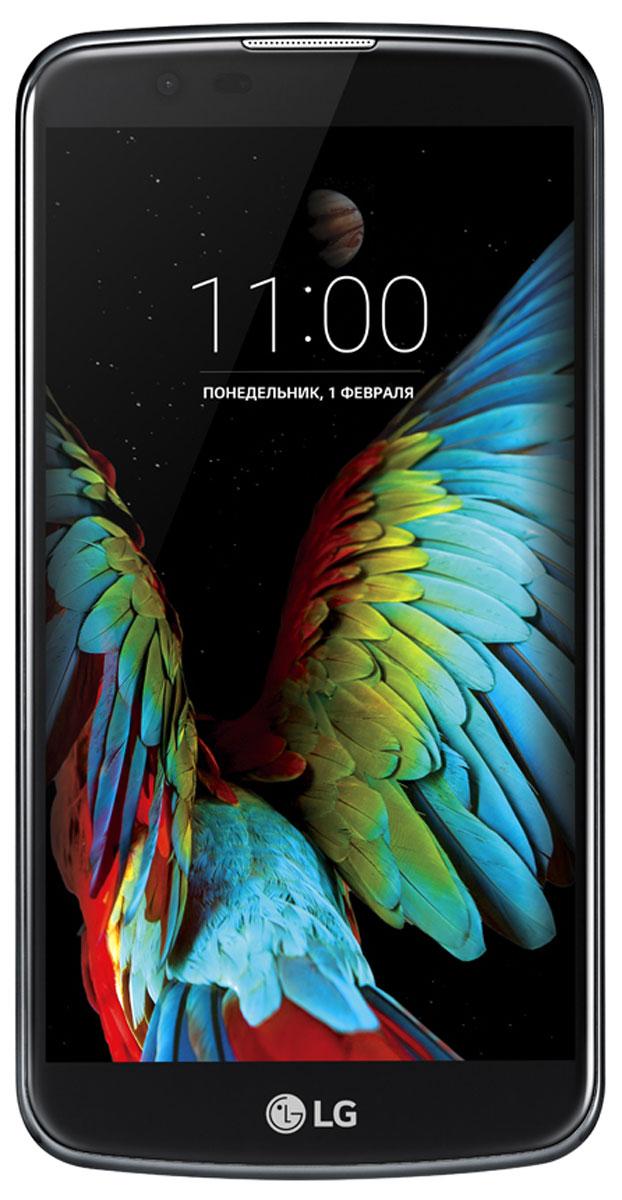 LG K10 LTE K430DS, Black Blue