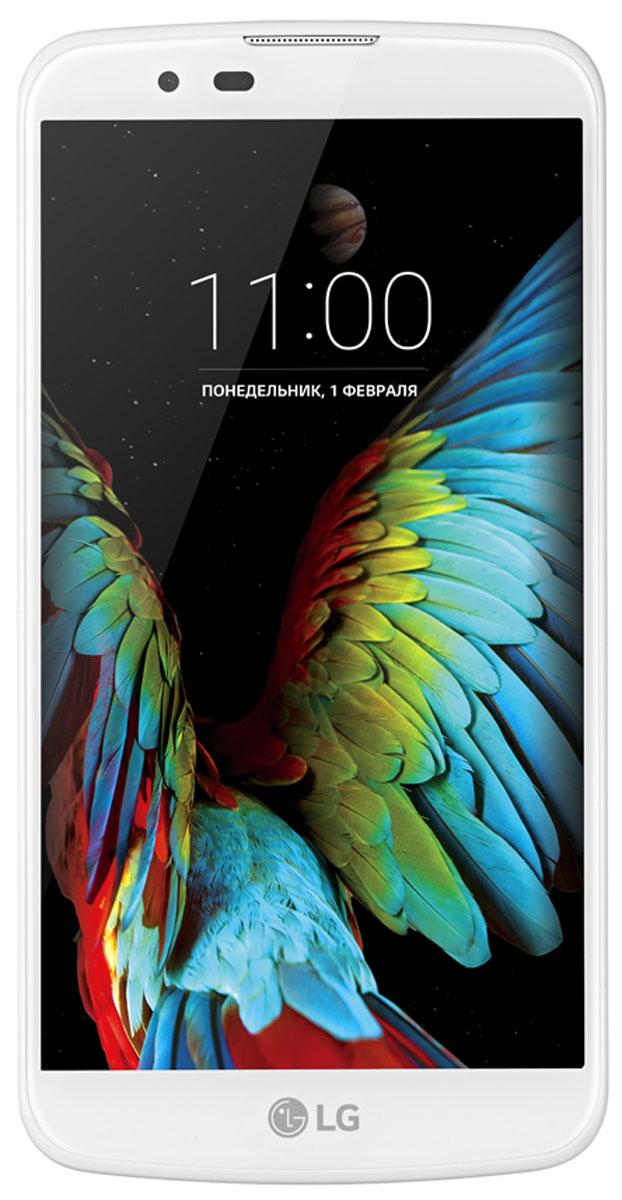 LG K10 LTE K430DS, White