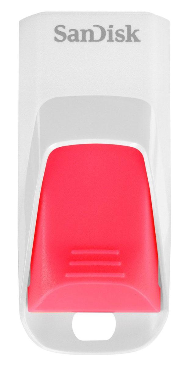 SanDisk Cruzer Edge 16GB, White Pink USB-накопительSDCZ51W-016G-B35PSanDisk Cruzer Edge — это удобный и стильный USB флеш-накопитель, в котором современный дизайн сочетается с высокой вместительностью. USB-накопитель выпускается емкостью до 64 ГБ — на нем достаточно места для хранения любимых фотографий, музыки, видео и других личных данных. Удобный выдвижной разъем usb обеспечивает дополнительную защиту USB флеш-накопители SanDisk Cruzer Edge отличаются современным дизайном, занимают мало места и легко помещаются в карман. Этот накопитель отличается выдвижным разъемом USB, который обеспечивает дополнительную защиту на время, пока накопитель не используется. Красно-черное оформление этих накопителей хорошо сочетается со многими электронными устройствами. Накопитель высокой емкости для хранения мультимедийных файлов USB флеш-накопители SanDisk Cruzer Edge созданы инноваторами в мире флеш - памяти и отличаются высокой емкостью при компактных размерах. Емкости памяти до 64 ГБ будет достаточно для хранения фотографий,...