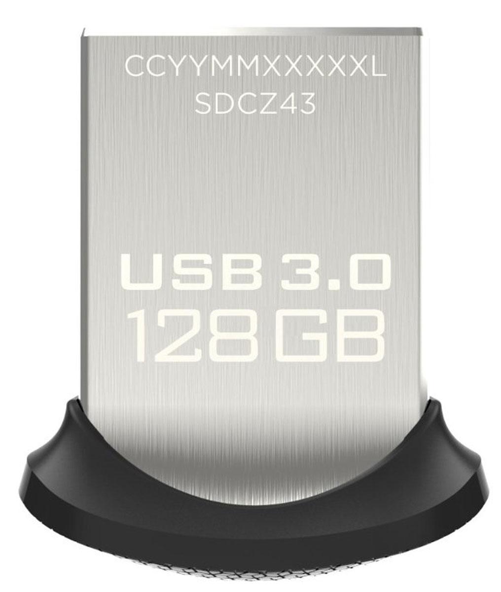 SanDisk Ultra Fit 3.0 128GB, Black USB-накопительSDCZ43-128G-G46Сверхминиатюрный низкопрофильный накопитель SanDisk Ultra Fit 3.0 всегда готов прийти на помощь при нехватке дискового пространства или исключительно быстро переместить мультимедиа с одного устройства на другое. Оцените почти 10-кратное превосходство в скорости в сравнении со стандартными накопителями USB 2.0 и копируйте полнометражные фильмы менее чем за 40 секунд. Надежный накопитель для всех ваших устройств Расширьте память своего устройства (дополнительная память до 128 ГБ) с помощью этого маленького удобного флеш-накопителя USB 3.0. Подключите его к труднодоступному USB-порту телевизора и смотрите видео или возьмите его с собой в ноутбуке или автомобильной аудиосистеме. Супербыстрый перенос контента с устройства на устройство — где бы вы ни находились Благодаря высокой скорости USB 3.0 вам не придется больше ждать. Теперь переносить фотографии, музыку или видео с одного устройства на другое просто, как никогда. Полнометражный фильм передается...