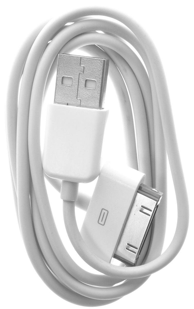 OLTO ACCZ-3013, White кабель USBO00000260Кабель OLTO ACCZ-3013 для соединения устройств разъемом Apple 30-pin c USB-портом. Он может использоваться для передачи данных, зарядки аккумулятора и адаптирован для работы со всеми операционными системами. Главное достоинство OLTO ACCZ-3013 в его внешнем виде. Он выгодно отличается от привычных и скучных расцветок стандартных кабелей.