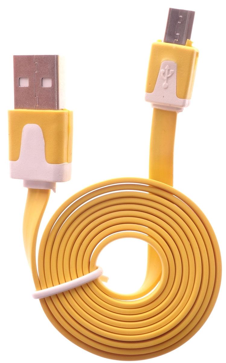 OLTO ACCZ-3015, Yellow кабель USBO00000270Кабель OLTO ACCZ-3015 для соединения microUSB устройств c USB-портом. Он может использоваться для передачи данных, зарядки аккумулятора и адаптирован для работы со всеми операционными системами. Главное достоинство OLTO ACCZ-3015 в его внешнем виде. Он выгодно отличается от привычных и скучных расцветок стандартных кабелей.