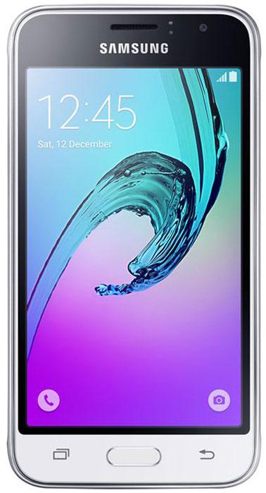 Samsung SM-J120F Galaxy J1 (2016), WhiteSM-J120FZWDSERSamsung Samsung SM-J120F Galaxy J1 - это гармония стиля и функциональности. Закругленные края подчеркивают простой, но элегантный и современный дизайн, а толщина корпуса в 8,9 мм обеспечивает удобство в использовании! Яркие впечатления от просмотра Яркие впечатления от просмотра на 4,5 экране. Он отличается широкой палитрой воспроизводимых цветов. Благодаря обновленному дизайну экран выглядит шире, а воспроизводимые изображения очень реалистичны. Яркие и четкие фотографии: 5-мегапиксельная основная камера с диафрагмой f/2.2 - гарантия отличных снимков. Емкий аккумулятор: Аккумулятор с емкостью 2050 мАч позволит оставаться на связи дольше обычного. Разрядился аккумулятор? Нет проблем! Режим максимального энергосбережения позволит продлить работу вашего смартфона. Повышенная производительность: 4-ядерный 1,3 ГГц процессор и 1 ГБ оперативная память обеспечат мгновенную реакцию смартфона на любые ...