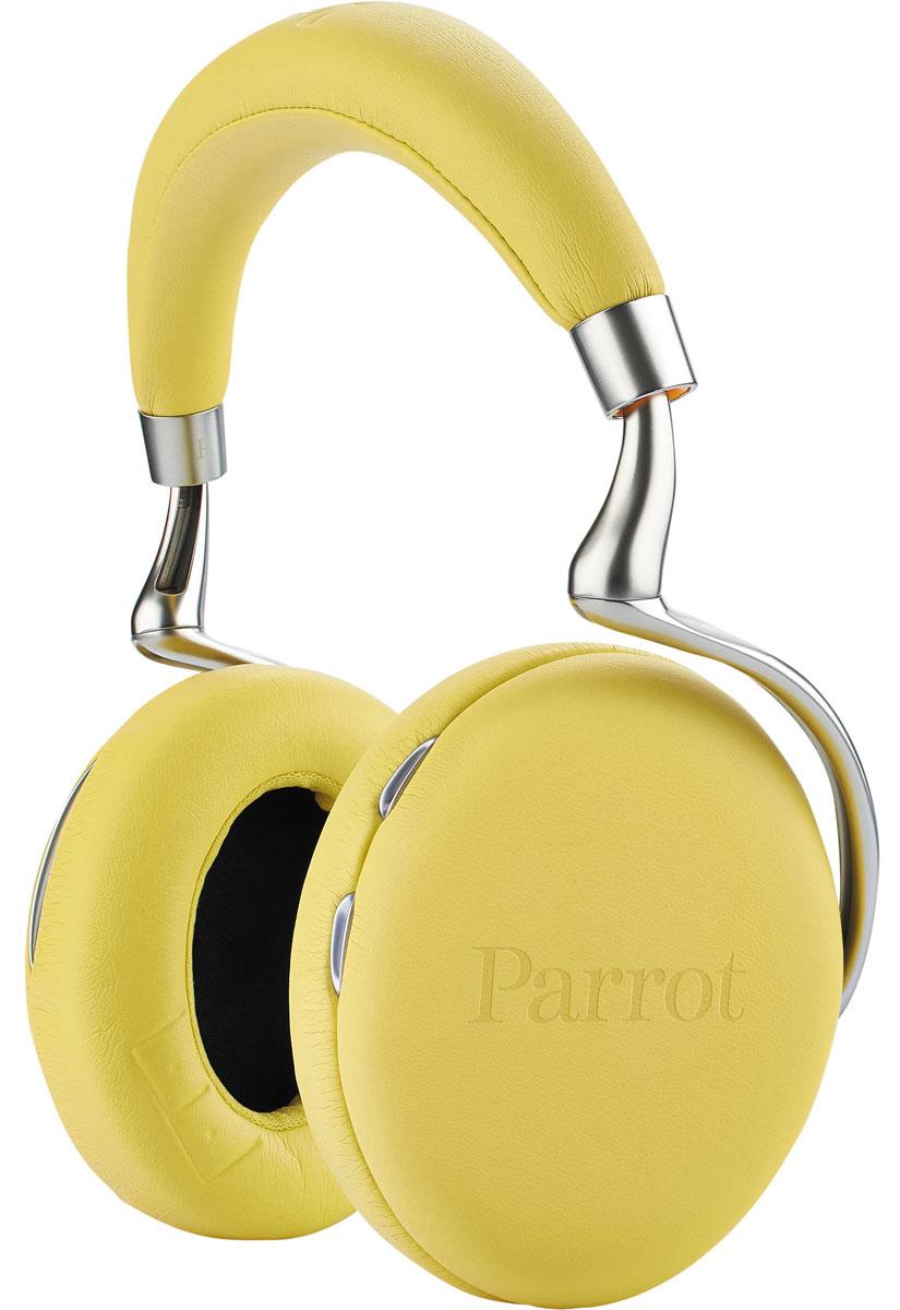 Parrot Zik 2.0, Yellow наушникиPF561022С наушниками Parrot Zik 2.0 вы можете выбрать из 3 возможностей выбора времени длительного прослушивания: В режиме полета наушники предусматривают до 18 часов проигрывания музыки с включенной функцией шумоподавления и при подключении аудиокабеля. Данный режим идеально подходит для долгих интерконтинентальных перелетов В режиме Эко наушники предусматривают до 7 часов проигрывания музыки с включенной функцией шумоподавления и эффектом концертного зала и при подключении аудиокабеля Нормальный режим гарантирует до 6 часов проигрывания музыки с включенной функцией шумоподавления и эффектом концертного зала и при воспроизведении музыки через Bluetooth. Наушники Parrot Zik 2.0 совместимы со смартфонами, планшетами и ПК и распознают большинство кодеков аудио, в частности, формат AAC. Они работают с iPhone, iPod, iPad. Интегрированная технология NFC позволяет устанавливать автоматическое подключение к смартфонам, оснащенным технологией Bluetooth. ...