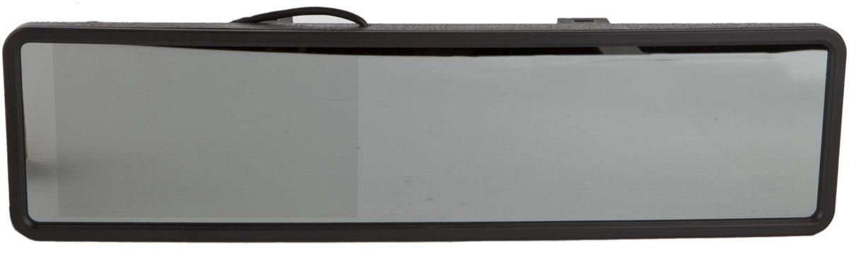 AutoExpert DV 525, Black автомобильный монитор2170816985254Универсальный цветной монитор AutoExpert DV 525 в панорамном зеркале. Предназначен для подключения камеры заднего/переднего обзора или другого источника видеосигнала. Панорамное зеркало обеспечивает максимально широкий обзор назад во время движения. Универсальное крепление позволяет закрепить зеркало с монитором на любое штатное зеркало. Монитор расположен прямо перед глазами водителя. Ничего лишнего в салоне авто - ничто не привлекает воров. Размер зеркала: 30,5 см х 8 см Тип экрана: TFT LCD 2 видеовхода с автоматическим включением монитора при появлении видеосигнала Поддержка PAL-AUTO/NTSC Яркость: 250 кд/м2 Контраст: 300:1