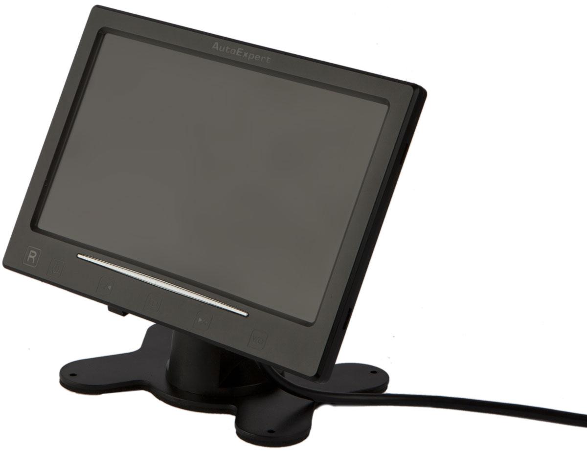 AutoExpert DV 755, Black автомобильный монитор с камерой заднего вида 2015050907559