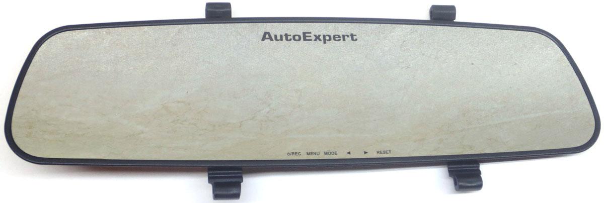 AutoExpert DVR 782, Black автомобильный видеорегистратор2170816987821Автомобильный видеорегистратор AutoExpert DVR 782 выполнен в виде зеркала заднего вида. Таким образом оно не привлекает к себе внимание и работает, как скрытая камера, что иногда бывает очень полезно. Питание обеспечивается с помощью прикуривателя или аккумулятора. Видеосъемка осуществляется в Full HD-качестве, которое гарантирует четкое и детализированное изображение. Забывчивых водителей порадует функция автоматического старта записи при запуске двигателя. Во время стоянки съемка производится только в случае срабатывания датчика движения. Это экономит место на карте памяти, максимальный объем которой составляет 32 ГБ. Функция записи по датчику движения активируется в случае столкновений или ударов, а также при резком изменении направления движения вашего автомобиля, а полученные видеокадры помещаются в специальную папку и хранятся там. Кодек: H.264 Тип аккумулятора: Li-ion, 500 мАч Универсальное крепление двух типов:...