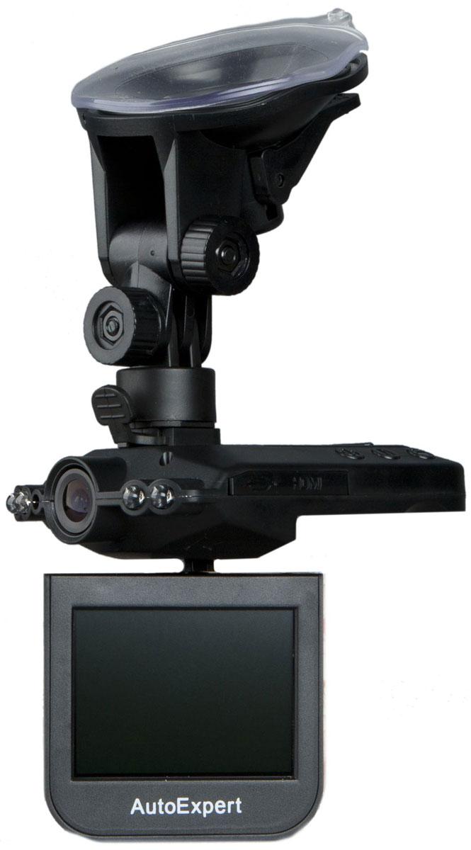 AutoExpert DVR 929, Black автомобильный видеорегистратор2170819811789Компактный видеорегистратор AutoExpert DVR 929 с качеством HD и встроенной ИК подсветкой, снимающей ситуацию на дороге через лобовое стекло. Высококачественное видео можно посмотреть прямо в машине благодаря цветному ЖК-дисплею с диагональю 2,5. С помощью удобного кронштейна установка видеорегистратора занимает считанные секунды. Запись начинается автоматически, когда вы включаете зажигание автомобиля. Видео записывается файлами по 2/10/15 минут. После полного заполнения карты памяти, устройство удаляет старый файл и записывает новый (циклическая запись). ИК подсветка для ночной съемки (дальность подсветки до 1-2м) Видеоформат: AVI Датчик: 1/4 CMOS WXGA HD