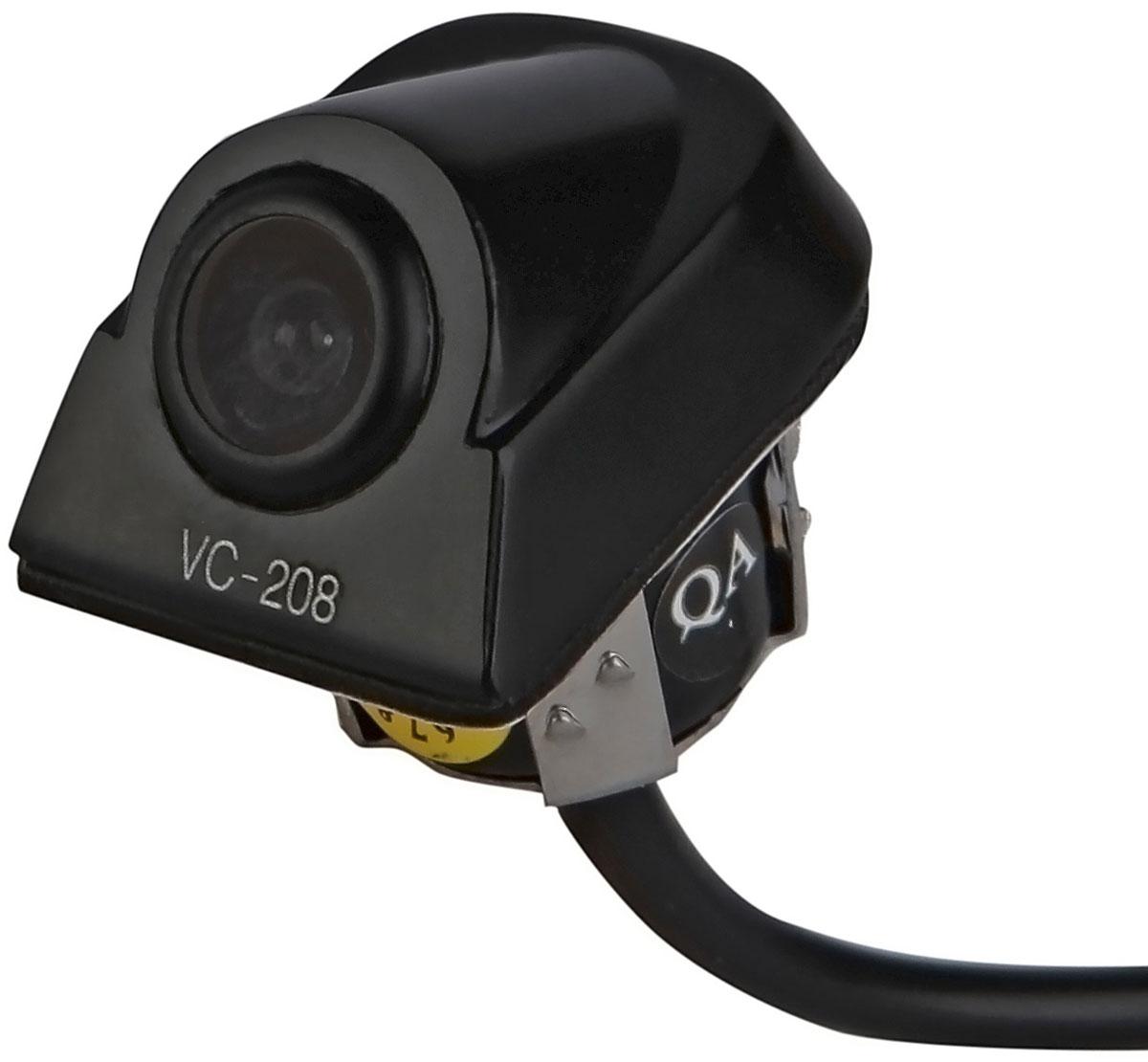 AutoExpert VC 208, Black автомобильная камера заднего вида2012506252089Современный ритм жизни диктует свои правила, и все больше людей обзаводятся автомобилями. Это приводит к тому, что машин в городах становится все больше, а из-за обилия машин многие люди испытывают трудности с парковкой. Камера заднего вида AutoExpert VC 208 позволяет уверенно чувствовать себя водителям, совершающим маневры при движении задним ходом. Это устройство экономит время при парковке, а главное нервы, особенно начинающим автомобилистам. С камерой заднего вида AutoExpert VC 208 не стоит бояться наехать на бордюр или столкнуться с другим автотранспортом. Камера заднего вида AutoExpert VC 208 - идеальное решение для практичных автолюбителей. Количество пикселей: 648 х 488 Разрешение: 420 линий Угол обзора: 170 градусов Сигнал/шум: > 45 дБ Видеовыход: 1 В, 75 Ом Рабочая температура: -20 / +70°С Уровень защиты: IP66 (полная защита от пыли и воды) Парковочные линии (отключаемые) Изображение с камеры...