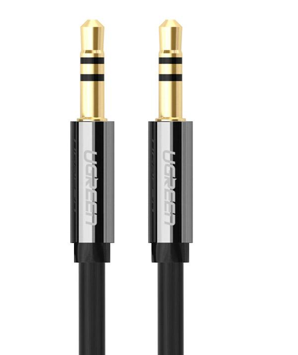 Ugreen UG-10736, Black Silver кабель AUX 3 мUG-10736Наименование: Кабель аудио 3m UGREEN jack 3,5 mm [штекер]/jack 3,5 mm [штекер] UG-10736 стерео, медь,пакет, металлические соединители, черный Модель: UG-AV119 Тип оборудования: Кабель Описание: Главное отличие этого аудио кабеля - мягкая оболочка и стильные металлические соединители. Прекрасное качество исполнения и экранирования позволит избежать влияния помех при передаче сигнала. Он может быть использован для подключения например, гарнитуры с MP3-плеером, компьютера, DVD, TV, радио, CD плеер , в которых есть данный аудиоразъем. Интерфейс, разъемы и выходы: стерео jack 3.5 мм [штекер) - стерео jack 3.5 мм [штекер], медь, латунные контакты Диаметр проводника питания 28AWG Диаметр проводника передачи данных: 28AWG Диаметр кабеля (OD): 1,5 х 3,5 мм Тип оболочки: ПВХ Экранирование: да, экранирование кабеля позволит защитить сигнал при передаче от влияния внешних полей, способных создать помехи Цвет кабеля или переходника: черный Длина кабеля: 3 метра Упаковка: Пластиковый пакет ...