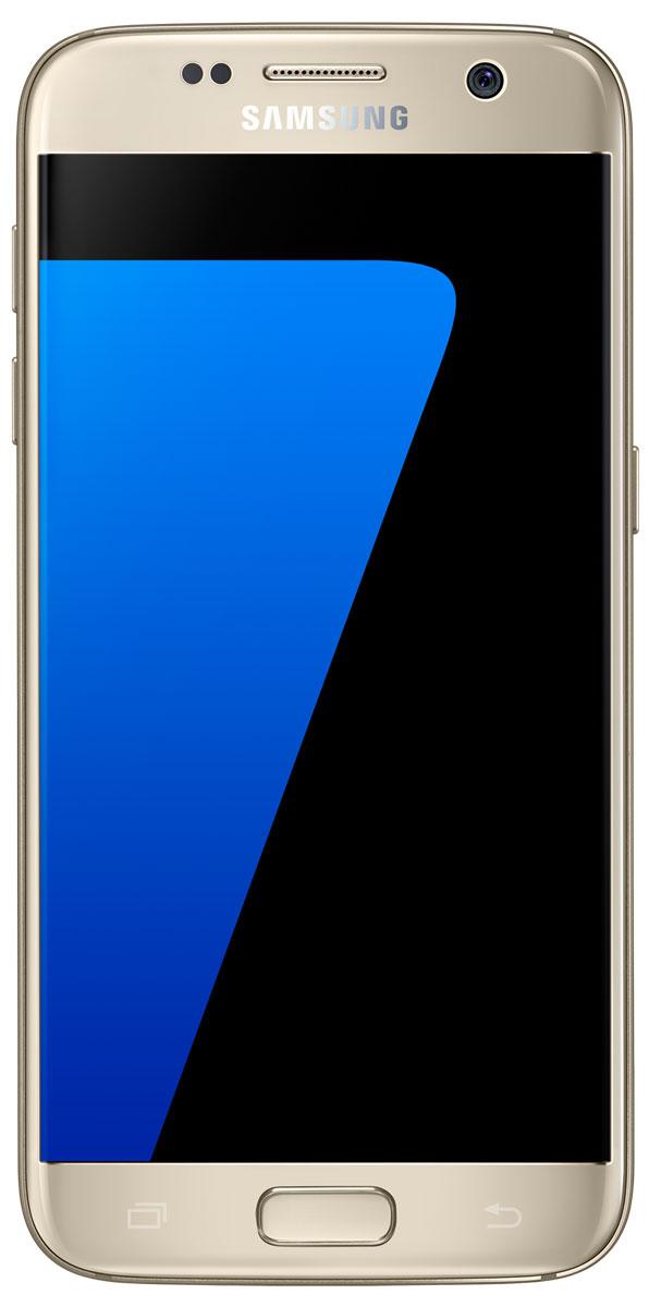 Samsung SM-G930F Galaxy S7 (32GB), GoldSM-G930FZDUSERSamsung Galaxy S7 - это уже не просто телефон + КПК, это настоящий чудо-проводник в мире современных цифровых технологий, который умещается у вас в кармане. Данная модель - незаменимый помощник буквально на каждый день: начиная от банальных выходов в интернет и навигации, и заканчивая функциями персонального тренера и даже медицинского консультанта! Samsung Galaxy S7 с экраном 5,1 дюйма Quad HD Super AMOLED обладает защищенным 3D-стеклом Corning Gorilla Glass 4, создающим эффект погружения в контент, стильным дизайном и прочной конструкцией с эргономичными изгибами для удобного захвата. Новая функция Always-On Display (Всегда активный экран) предоставляет пользователям уникальную возможность упрощенного, бесконтактного использования устройства в любой ситуации. Теперь можно проверить время и календарь, не прикасаясь к экрану. Наряду с изысканным дизайном, Galaxy S7 имеет повышенную функциональность благодаря защите от пыли и воды по стандарту...