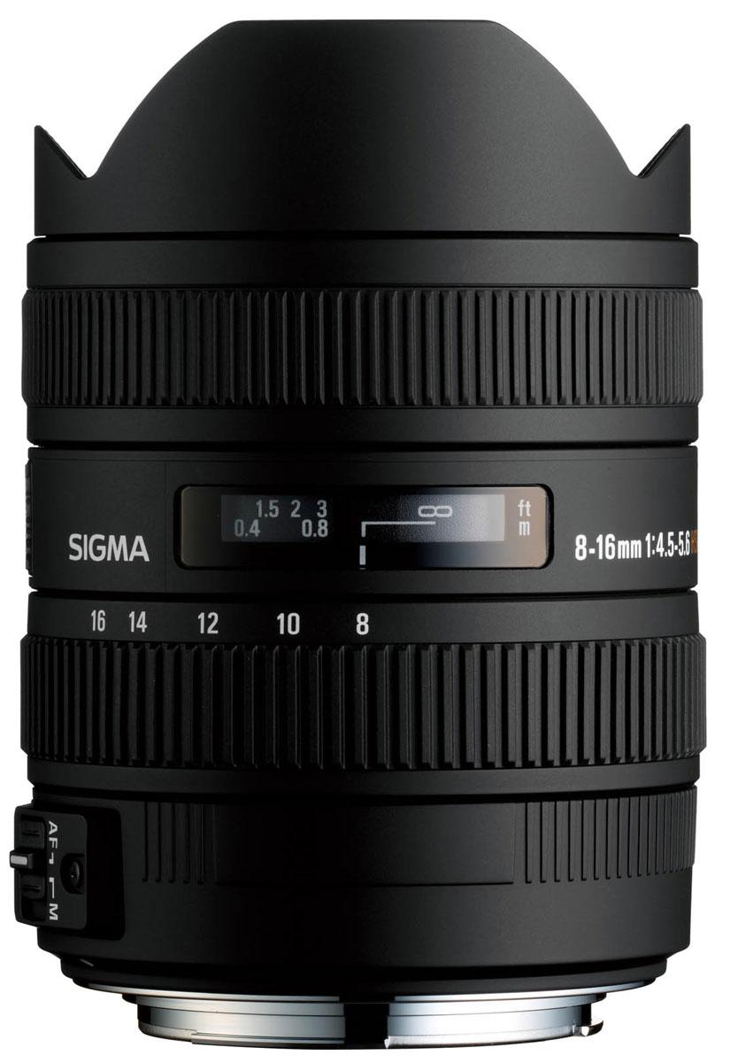 Sigma AF 8-16mm f/4.5-5.6 DC HSM объектив для Nikon F