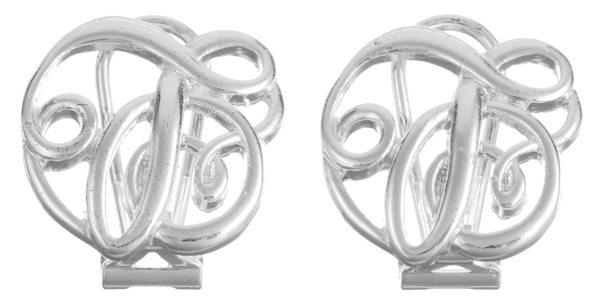 Серьги Taya, цвет: серебристый. T-B-5977-SHCL-SILVERT-B-5977-SHCL-SILVERОригинальные серьги Taya, выполненные из металлического сплава в виде оригинального узора, придадут вашему образу изюминку, подчеркнут красоту или преобразят повседневный наряд. Застегиваются серьги на замок-омега. Такие серьги позволят вам с легкостью воплотить самую смелую фантазию и создать собственный, неповторимый образ.
