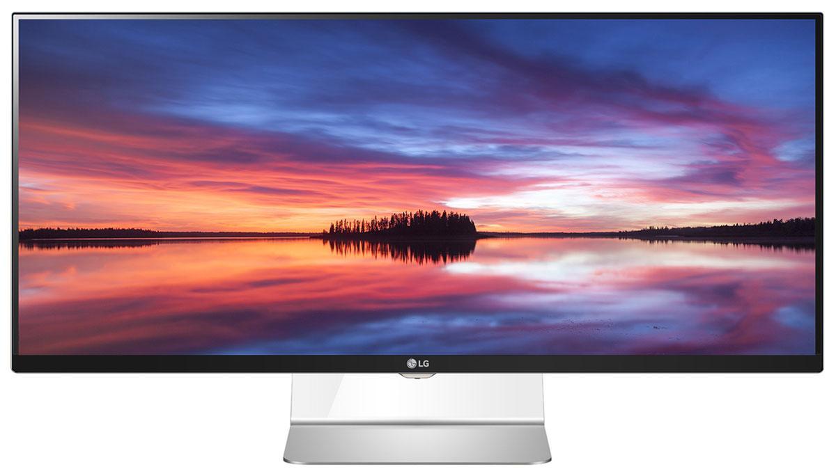 LG Flatron 34UM95C-P, Black Silver монитор34UM95C-P.ARUZМонитор LG 34UM95C оснащен экраном с разрешением QHD (3440 x 1440 точек), обеспечивающим четкое и контрастное изображение. Площадь пикселей данного 34 монитора в 1.8 раз выше, чем у 29 UltraWide монитора, и 2.4 раза выше, чем у Full HD монитора формата 16:9. Использование монитора 34UM9C при работе с приложениями Microsoft Office позволяет значительно повысить производительность. Например, при работе с Excel возможно отображение до 47 столбцов и 63 строк. Максимально естественная цветопередача раскроет по-настоящему живые краски мира: Монитор серии Ultrawide 34UM95C формата 21:9 поддерживает функцию аппаратной калибровки благодаря встроенному скейлеру и идущему в комплекте ПО True Color Finder. В дополнение к поддержке цветового поля sRGB монитор способен отображать 10-битную цветовую палитру и идеально подходит как для профессиональной, так и любительской работы с графикой и фото. Поддержка Mac Pro: Монитор 34UM95C полностью...