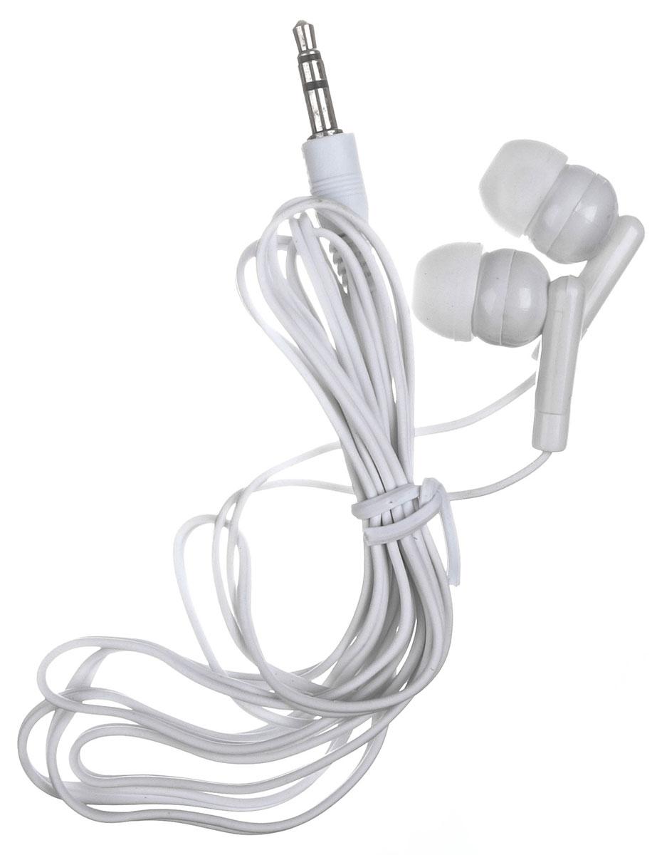 OLTO VS-840, White наушникиO00000528Наушники-вкладыши OLTO VS-840 станут отличным дополнением к вашему музыкальному образу и подчеркнут ваши меломанские наклонности. Яркий дизайн, выполненный по последней моде, привлекает к себе внимание. Конструкция амбушюров гарантирует слушателю высокую шумоизоляцию от внешних источников звука.