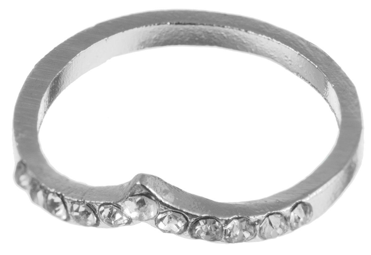 Кольцо на верхние фаланги Taya, цвет: серебристый. T-B-5931-RING-SILVERT-B-5931-RING-SILVERСтильное кольцо на верхние фаланги пальцев Taya имеет оригинальную форму и декорировано стразами. Кольцо Taya превосходно дополнит ваш образ и подчеркнет отменное чувство стиля своей обладательницы. Диаметр кольца: 1,5 см.