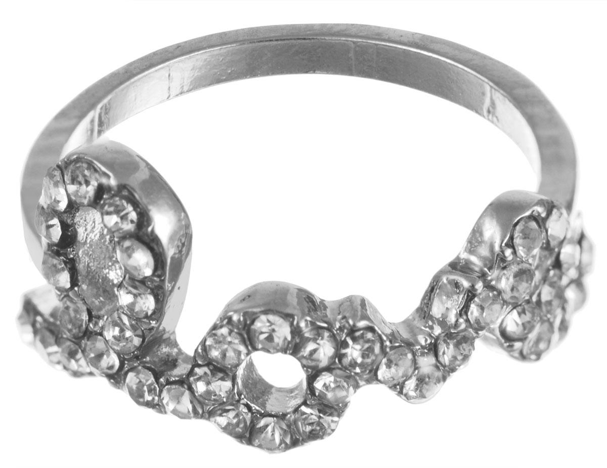 Кольцо на верхние фаланги Taya, цвет: серебристый. T-B-5360-RING-SILVERT-B-5360-RING-SILVERСтильное кольцо на верхние фаланги пальцев Taya декорировано надписью Love, которая оформлена стразами. Оригинальное кольцо Taya превосходно дополнит ваш образ и подчеркнет отменное чувство стиля своей обладательницы. Диаметр кольца: 1,5 см.