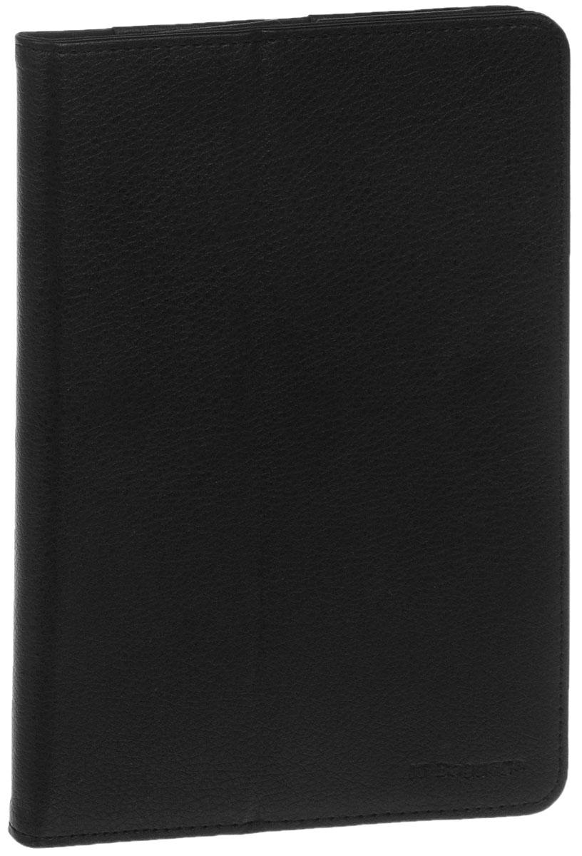 IT Baggage чехол для iPad mini 3/mini 4, BlackITIPMINI4-1Чехол IT Baggage для iPad mini 3/mini 4 - это стильный и лаконичный аксессуар, позволяющий сохранить планшет в идеальном состоянии. Надежно удерживая технику, обложка защищает корпус и дисплей от появления царапин, налипания пыли. Также чехол можно использовать как подставку для чтения или просмотра фильмов. Имеет свободный доступ ко всем разъемам устройства.