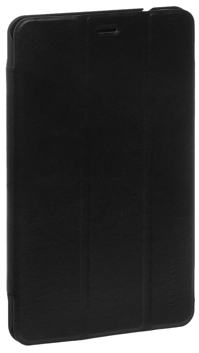IT Baggage чехол для Huawei Media Pad T1 8.0, BlackITHWT185-1Чехол IT Baggage для Huawei Media Pad T1 8.0 - это стильный и лаконичный аксессуар, позволяющий сохранить планшет в идеальном состоянии. Надежно удерживая технику, обложка защищает корпус и дисплей от появления царапин, налипания пыли. Также чехол можно использовать как подставку для чтения или просмотра фильмов. Имеет свободный доступ ко всем разъемам устройства.