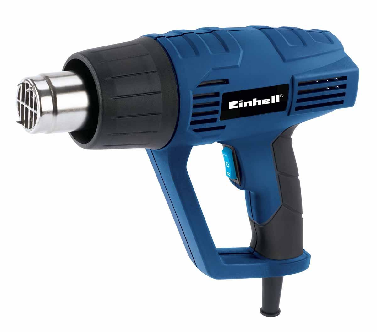 Фен технический Einhell BT-HA 2000/14520167Мощность: 2000 Вт. Два температурных режима: 350/500 С. Два режима производительности: 300/500 л/мин. Вес: 1,5 кг. В комплекте: кейс, набор насадок.