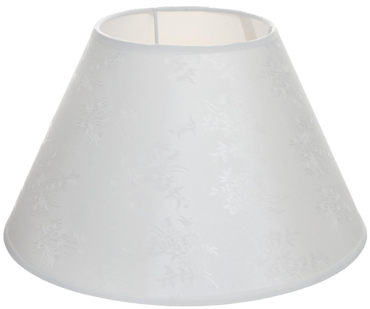 Абажур для настольной лампы Vitaluce, цвет: белый, Е27, 29 х 29 х 18 смVL6818Стильный абажур для настольной лампы Vitaluce, выполненный из металла, пластика и текстиля, украсит ваш дом и защитит от яркого света лампы. Диаметр абажура (по верхнему краю): 14 см. Диаметр абажура (по нижнему краю): 29 см. Высота абажура: 18 см.