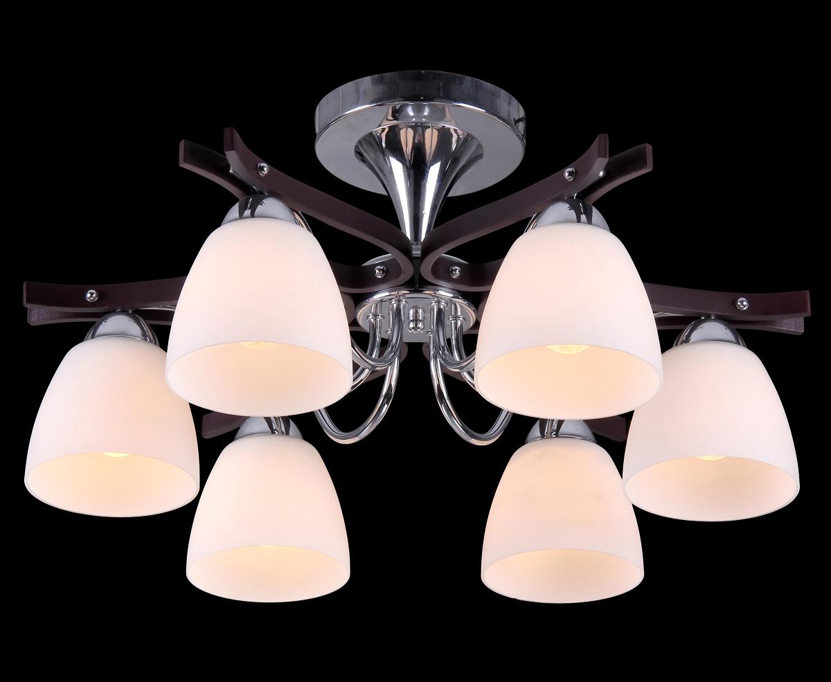 Светильник Natali Kovaltseva 10859/6C PALISANDER10859/6C PALISANDERD58 x H28 cm