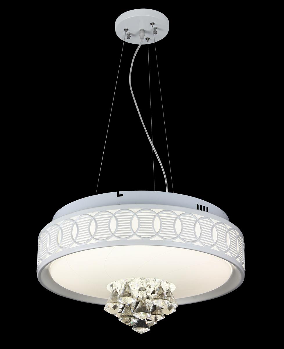 Люстра Natali Kovaltseva 11152/24P CHROME, LED11152/24P CHROME, LEDD48 x H120cm