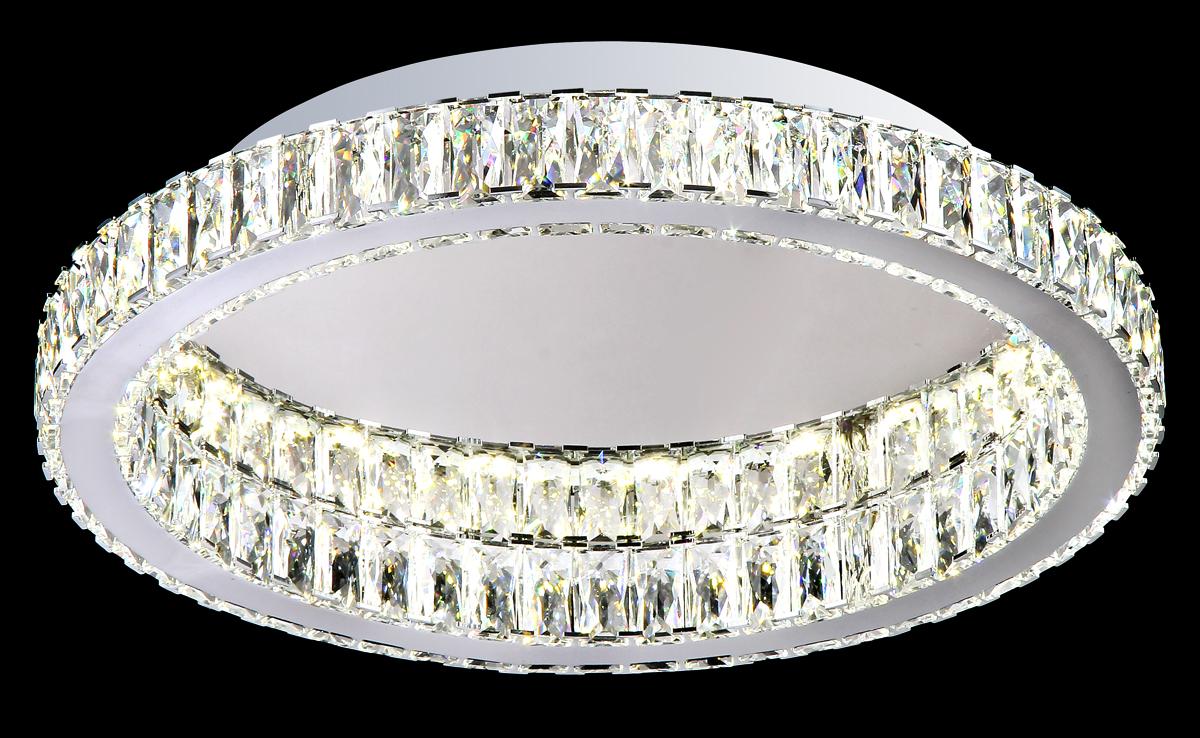 Люстра Natali Kovaltseva 11271/1B CHROME, LED11271/1B CHROME, LEDD40 x 7,5 cm