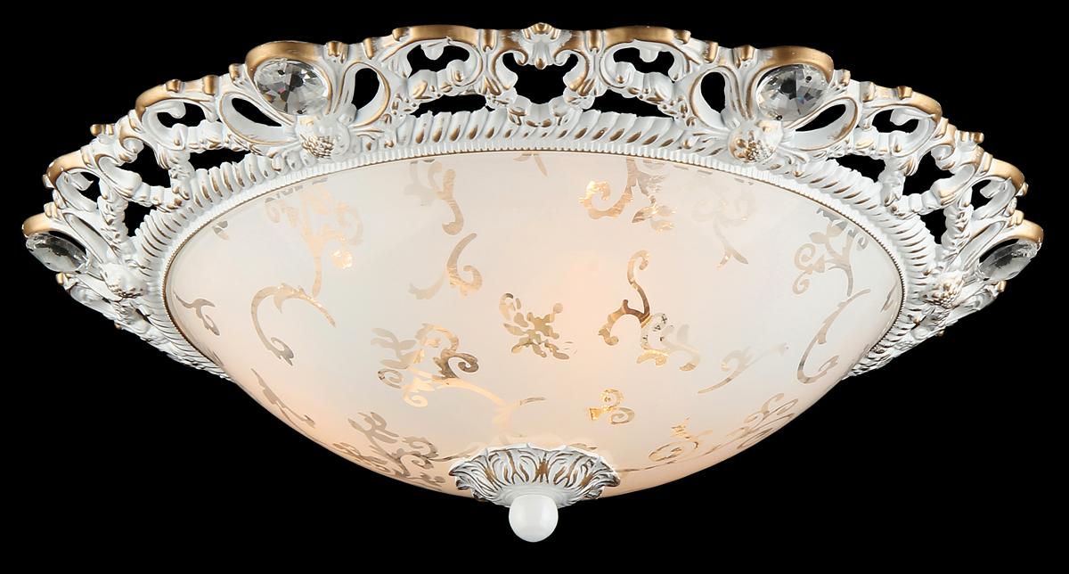 Светильник Natali Kovaltseva Isabella 10432/3C WHITE GOLDIsabella 10432/3C WHITE GOLDD38 x H13 cm