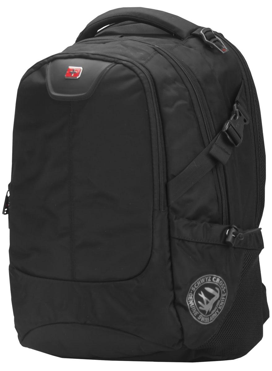Continent BP-306, Black рюкзак для ноутбука 16Continent BP-306 BKContinent BP-306 - комфортный и надежный рюкзак для вашего ноутбука с диагональю экрана до 16 дюймов. Рюкзак изготовлен из прочного синтетического материала, рассчитанного на частое и интенсивное использование. Все застежки отличаются высоким качеством материалов и исполнения, а также продуманы с точки зрения эргономики. Спинка оснащена дышащим слоем, что позволяет использовать его в любую погоду.