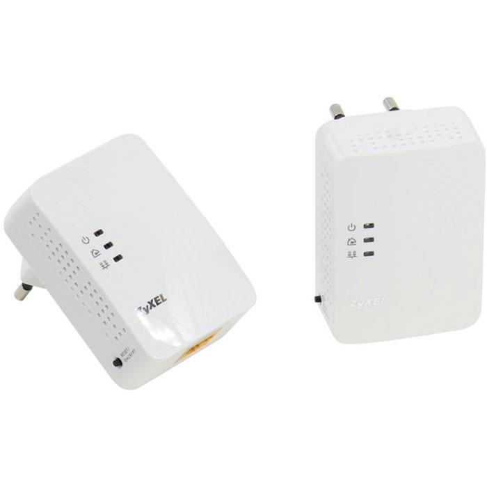 Zyxel PLA4201v2 EE (x2) адаптер PowerlinePLA4201v2 EE (x2)Powerline - адаптеры ZyXEL PLA4201v2 EE предоставляют полную свободу размещения сетевых устройств в пределах собственного или арендуемого помещения, так как любая электрическая розетка становится точкой доступа в сеть. Технология HomePlug AV 500 Мбит/с обеспечивает помехозащищенную передачу мультимедиа и является реальной альтернативой Ethernet-кабелю для трансляции видео высокой четкости на телевизор, установленный в произвольной точке квартиры. Управление качеством обслуживания (QoS) в сети HomePlug AV позволяет смотреть цифровое видео без задержек и потери качества одновременно с передачей данных. Передаваемые по электропроводке данные надежно защищены от прослушивания и перехвата. Настройка защищенного соединения осуществляется одним нажатием кнопки ENCRYPT, расположенной на корпусе адаптера. Соответствует стандартам IEEE 1901.2010 и HomePlug AV Диапазон частот: 1,8 – 67,5 МГц Защита сети: AES с ключом 128 битов Расстояние...