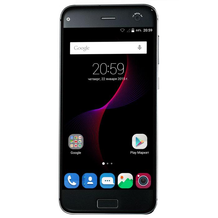 ZTE Blade S7, BlackZTE BLADE S7 (4G) BLACKZTE Blade S7 - стильный продвинутый смартфон с шустрым восьмиядерным процессором, отличными камерами и биометрической защитой. Одной из отличительных особенностей смартфона Blade S7 является уникальный дизайн корпуса. Он полностью выполнен из стекла и металла по технологии 2.5D, которая подчеркивает стиль и выводит устройство на новый уровень эргономики. Дисплей 5 с разрешением Full HD, сочетание технологий IPS и INCELL , практически полное отсутствие рамок и 2.5D-стекло - все это гарантирует максимальное качество и детализацию картинки, а так же комфорт и удобство при просмотре контента в кругу друзей и близких. За быстродействие процессов и обработку данных отвечает высокопроизводительный восьмиядерный процессор Snapdragon 615 и 3 ГБ оперативной памяти - плавная работа системы, комфорт в использовании и сбалансированное энергопотребление. Наличие в смартфоне технологии 4G LTE значительно увеличивает скорость и качество...