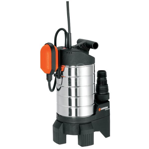 Насос дренажный Gardena 20000 inox Premium, для грязной воды01802-20.000.00Насос дренажный для грязной воды 20000 inox Premium (диаметр частиц до 38 мм)