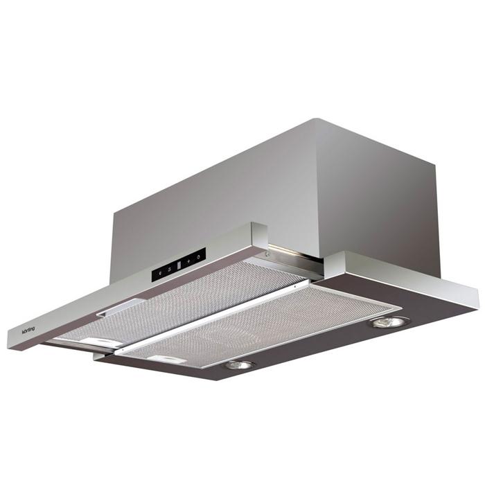 Korting KHP 6772 X кухонная вытяжка258Вытяжка Korting KHP 6772 X поможет вам эффективно решить проблему очистки воздуха. Она осуществляет работу в режимах отвода или рециркуляции воздуха. Вытяжка сочетает в себе качество, функциональность и элегантный дизайн, что делает ее отличным дополнением для вашей кухни. Таймер, установленный на определенное время, выключит вытяжку или переведет ее в другой режим работы. Это позволит оставить ее без присмотра, если вы не сможете, забудете или не успеете сделать указанное самостоятельно. Для обеспечения постоянной смены воздуха кухни активируйте функцию Clean Air. Для этого кнопку таймера нужно удерживать 3 секунды. Каждый час прибор будет включаться на минимальной скорости, работать 10 минут и отключаться. Режим Booster Интенсивный режим, который используется для быстрой очистки воздуха в помещении. Функция активируется на третьей скорости. Вытяжка автоматически переходит на четвертую, затем через 10 минут возвращается ...